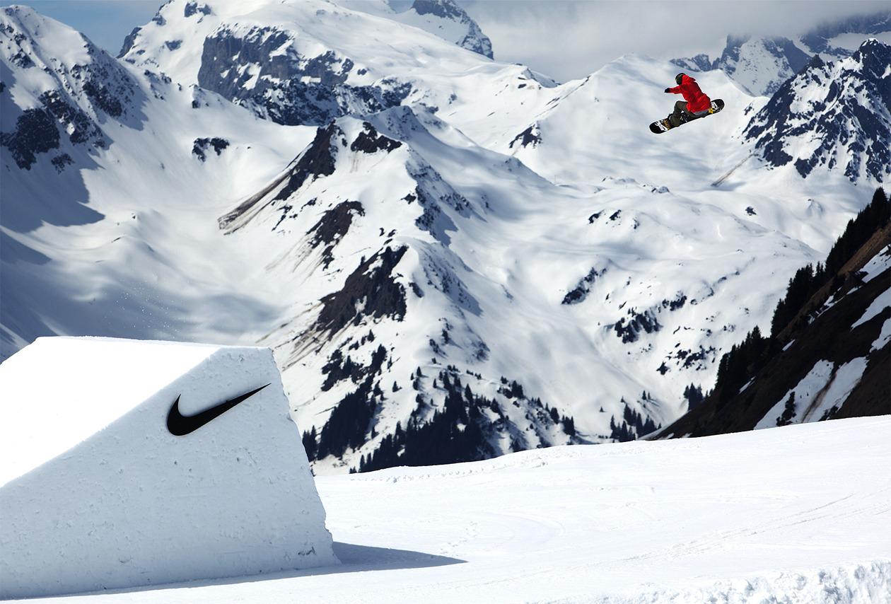 nike snowboarding hoshi ludwig direction and design