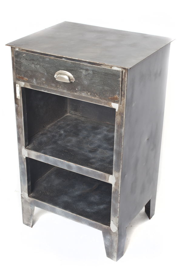 Prison night stand industrial antiques and oddities for Night stand cost