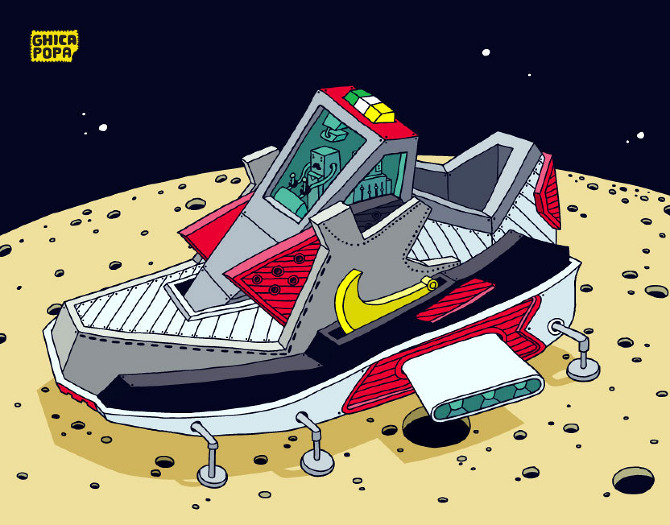 Moon Running Shoes