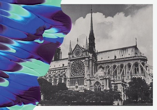 COLETTE CARTES POSTALES IMPRESSION7 Souvenirs de Paris by Leslie David in THISISPAPER MAGAZINE