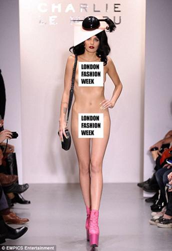 Charlie le mindu fashion show video 87