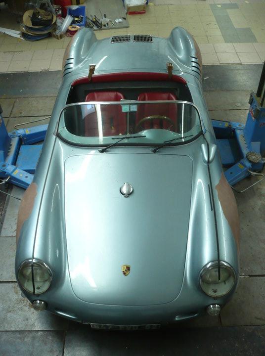 1955 Porsche 550 Spyder Replica Wbk Alan Derosier Design