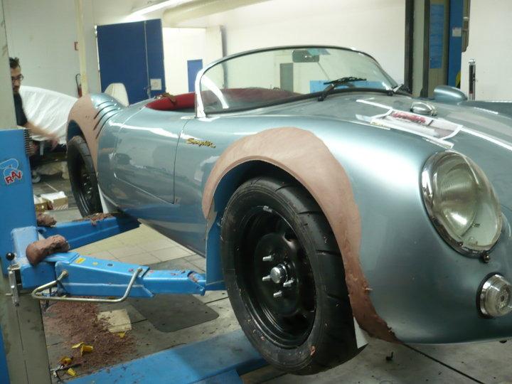 1955 Porsche 550 Spyder Replica WBK - Alan Derosier Design